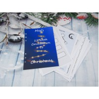 Countdown To Christmas Blue Tree Inserts