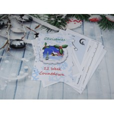 Countdown To Christmas Snowy Lodge Inserts