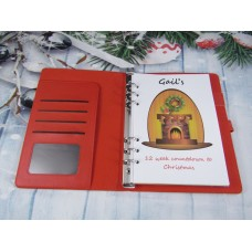 Countdown To Christmas Fire Place Organiser