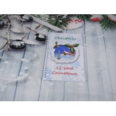 Countdown To Christmas Snowy Lodge Planner