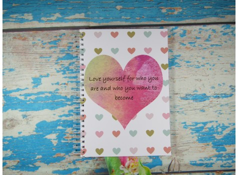 Love Yourself For Who You Are Planner